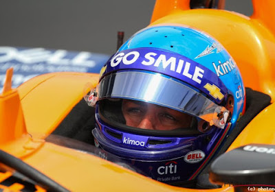 Alonso kan Indy500 voortzetten ondanks crash in trainingen