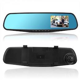 Camera video auto Siegbert, inregistrare dubla, Nightvision, 4.33 inch