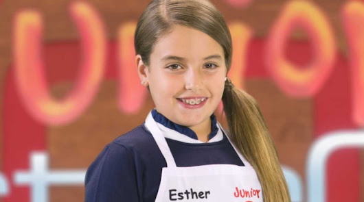 Esther gana ;MasterChef Junior;