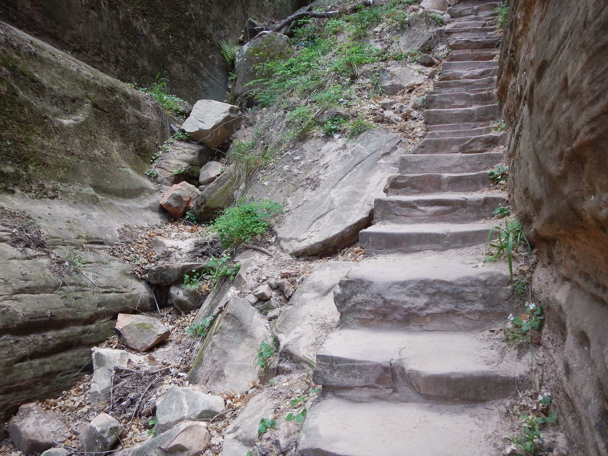 Photo: Stairsteps towards Hidden Canyon