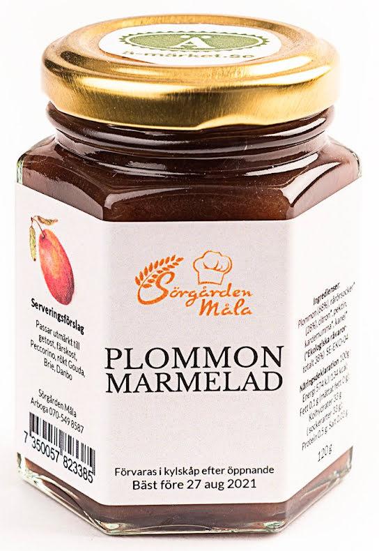 Plommonmarmelad - Sörgården Måla