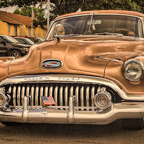 Buick Eight by Ray Ebersole - Transportation Automobiles ( car, cars, automobile, brown, tulsa ok )