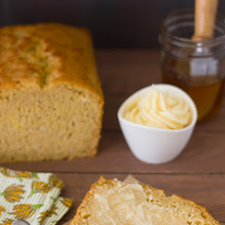 Honey and Beer Cornbread with Honey Butter