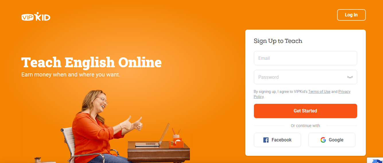 VIPKID Work From Home