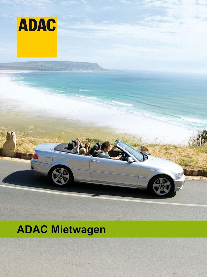 ADAC Mietwagen – Screenshot