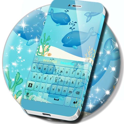 Blue Whales Keyboard