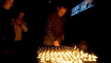 Photo: Eine Kerze für eine gute Reise...
