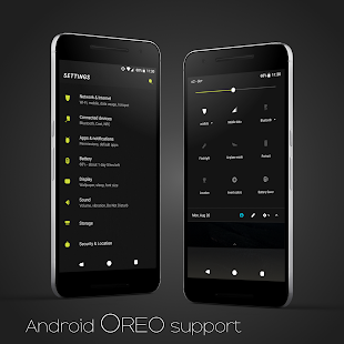 Focus || Substratum Theme (Android Oreo/Nougat) Screenshot