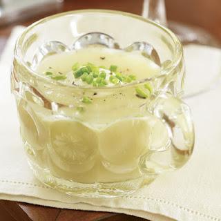 Silky Leek & Celery Root Soup