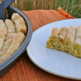 Pumpkin Pita - Coiled Kolokithopita from Samos