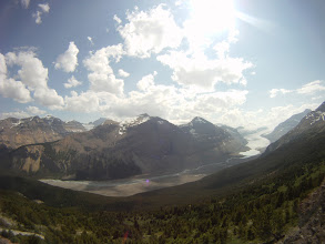 Photo: Glacier from Parker Ridge, Icefields Parkway