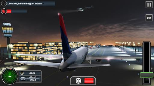 Flight Plane Simulator 3D : Airplane Flying Sim apkpoly screenshots 4