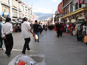 Photo: on the Jokhang kora