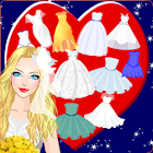 Juegos de bodas en la playa - Princesa Dress up icon