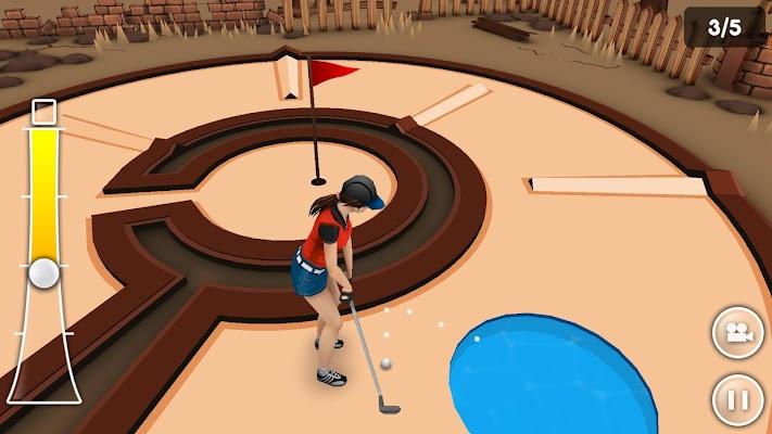 Mini Golf Game 3D- screenshot