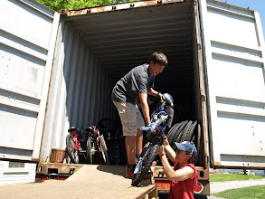 Photo: brand new bike donation from Glenwood Lions Collection