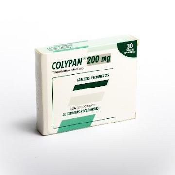 Colypan 200Mg Tabletas   Caja x30Tab Farma Trimebutina Maleato