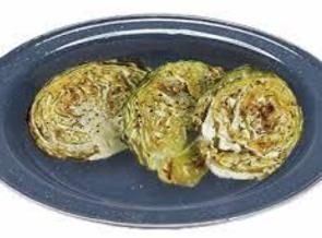 Roasted Cabbage With Minced Garlic Recipe