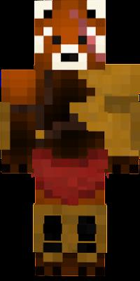 New Red Panda skin -(OoO)- !!!