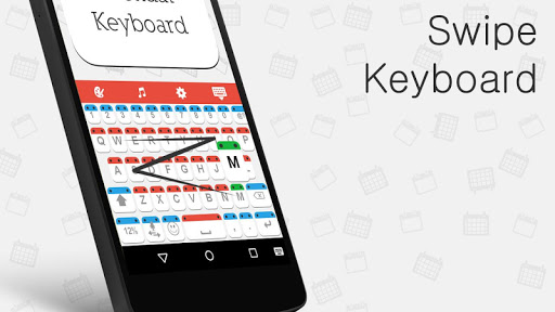 Calendar Mega Keyboard Theme