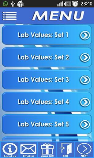 NCLEX Lab Values Calculation