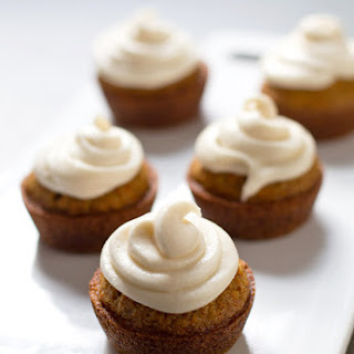 The Best Carrot Cake Cupcakes with Cream Cheese Frosting.