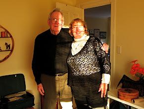 Photo: Uncle Peter and Sherna, Perth, WA