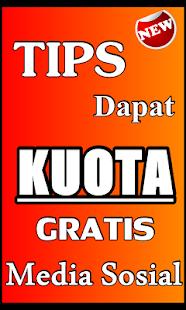 TIPS DAPAT KUOTA GRATIS MEDSOS TERBARU - náhled