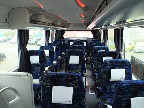 道南バス「高速はこだて号」 3946 車内