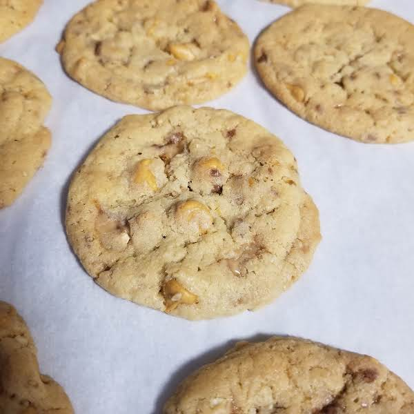 Oatmeal Butterscotch Toffee Cookies Recipe