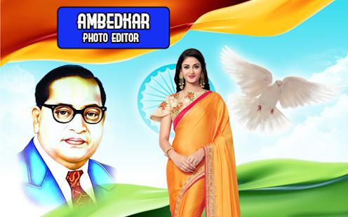 Ambedkar Jayanti Photo Frames for PC-Windows 7,8,10 and Mac apk screenshot 1