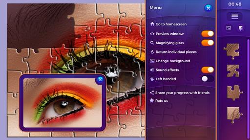 Permainan puzzle jigsaw  screenshots 4