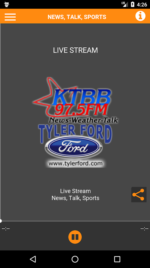 KTBB Radio- screenshot