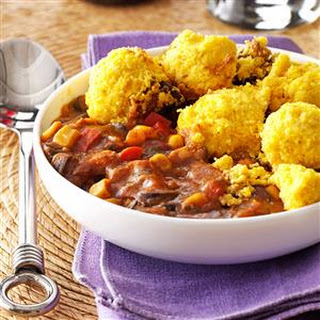 Corn Bread-Topped Chicken Chili Recipe