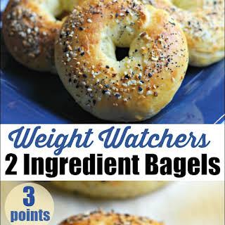2 Ingredient Weight Watchers Bagels.