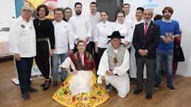 Presentación de 'Gastroandalucía' este lunes en la sede de la Capital Gastronómica Almería 2019.