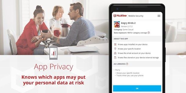 McAfee Mobile Security : Antivirus, Web Scan & App Lock 8