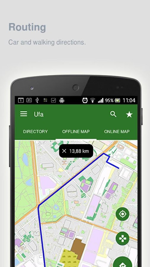 Ufa Map offline Android Apps on Google Play