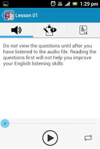 English Listening Test 3