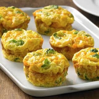 Crustless Veggie Mini Quiches.