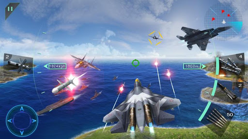 Sky Fighters 3D screenshot 11