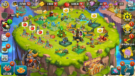 Monster Legends APK screenshot thumbnail 3