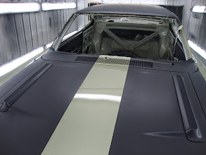 Photo: This is the correct hood treatment. Almost flat black Organisol