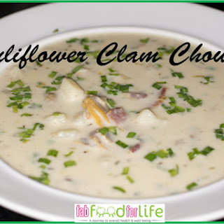 Cauliflower Clam Chowder