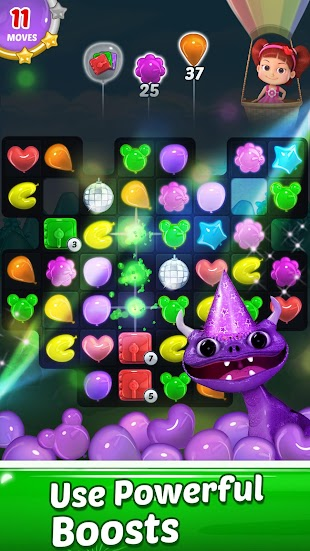Balloon Paradise - Free Match 3 Puzzle Game- screenshot thumbnail