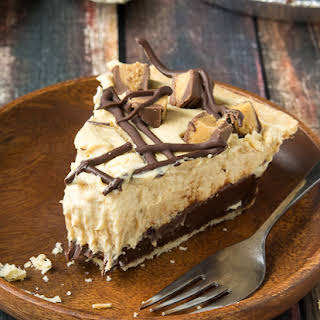 Chocolate Bottomed Peanut Butter Pie.