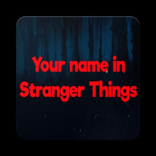 Your name in Stranger Things (app)