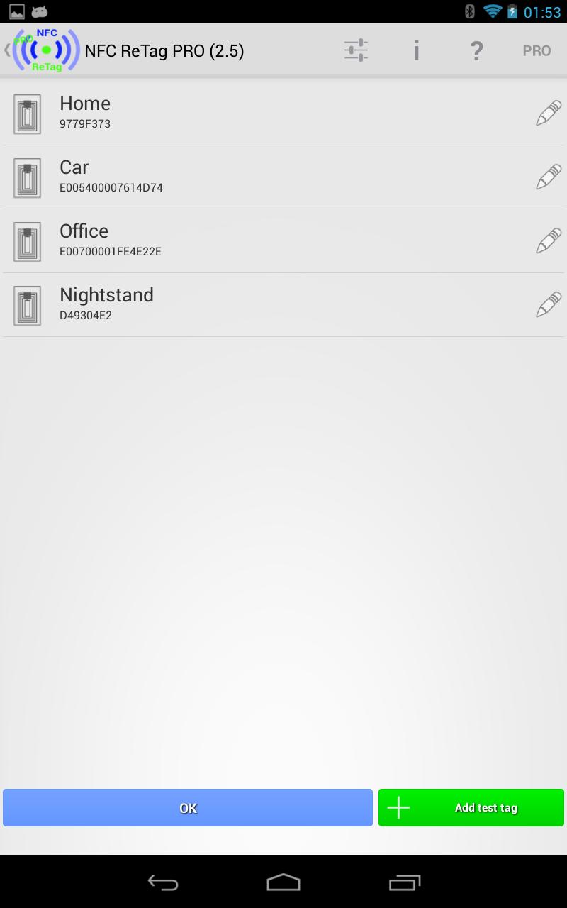 NFC ReTag PRO Screenshot 16