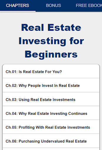 Real Estate Investing For Beginners 4.0 Screenshots 2