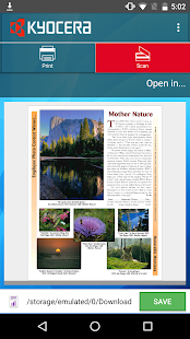 KYOCERA Mobile Print- screenshot thumbnail